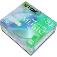 【クリックでお店のこの商品のページへ】CD-R 10P CDRDE80CPMX10N