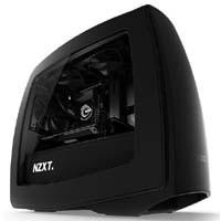 NZXT Manta-BB オールブラックモデル(側面透明窓付)