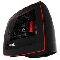 NZXT Manta-BR ブラック/レッドモデル(側面透明窓付)
