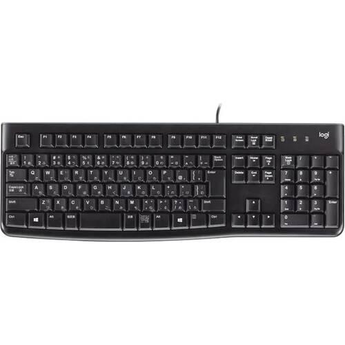 Logicool Keyboard K120 快適なタイピング経験を提供する、耐久性の高いUSBキーボード:九州・博多・天神近辺でPCをパーツ買うならツクモ福岡店!