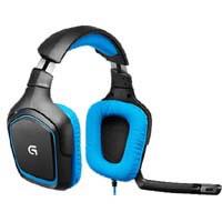 G430 Surround Sound Gaming Headset (ブラック・ブルー)