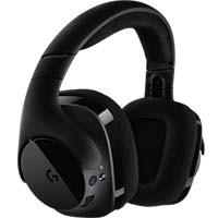 G533 Pro-G ドライバーとDTS Headphone:X 7.1chによるサラウンドサウンドが楽しめる、ワイヤレスゲーミングヘッドセット