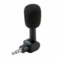 BUFFALO マイクロフォン 小型直付けタイプ BSHSM02BK