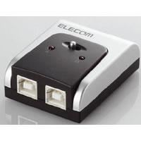 ELECOM USB2.0 compatible switching device U2SW-T2