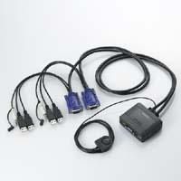 ELECOM USB-to-USB PC switchable instrument / audio switching KVM-KUS
