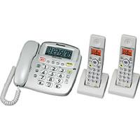 【クリックでお店のこの商品のページへ】コードレス電話機 TFEV253D 《送料無料》
