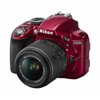 D3300 18-55 D3300 VRII Lens Kit (red) LKITRD