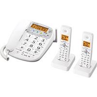 【クリックでお店のこの商品のページへ】コードレス電話機 JDV33CW 《送料無料》