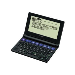SHARP SHARP電子辞書PW-NA1-B《送料無料》