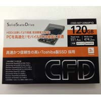 CFD販売 CSSD-S6T120NAP1Q Toshiba製SSD 採用 2.5インチ SATA 6.0Gb/s インターフェース対応 SSD:九州・博多・天神近辺でPCをパーツ買うならツクモ福岡店!