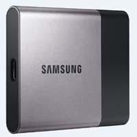SAMSUNG MU-PT500B/CS T3シリーズ USB 3.1 Type-C接続 外付けSSD:九州・博多・天神近辺でPCをパーツ買うならツクモ福岡店!