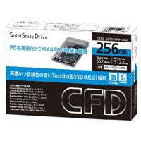 CFD販売 CSSD-S6T256NHG6Z Toshiba製SSD 2.5インチ SATA 6.0Gb/s インターフェース対応 MLC:九州・博多・天神近辺でPCをパーツ買うならツクモ福岡店!
