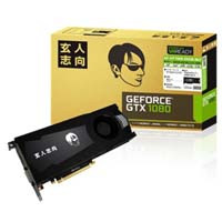玄人志向 GF-GTX1080-E8GB/BLF