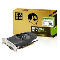 GF-GTX1050Ti-4GB/OC/SF NVIDIA GEFORCE GTX 1050Ti 搭載のグラフィックボード