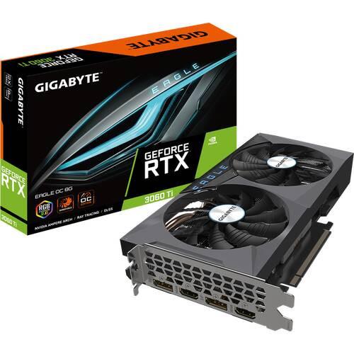 GIGABYTE GV-N306TEAGLE OC-8GD R2.0 GeForce RTX 3060 Ti グラフィックカード EAGLE OC シリーズ:博多・福岡・九州近辺でPCをパーツ買うならツクモ博多店!