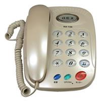 【クリックで詳細表示】アズマ シンプルテレフォンDEX HA-120-WH(ホワイト系) HA120