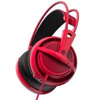 SteelSeries Siberia 200 Forged Red (51135) Siberia V2 の快適性とサウンドを兼ね備えた ゲーミングヘッドセット:九州・博多・天神近辺でPCをパーツ買うならツクモ福岡店!