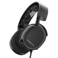 Arctis 3 Black (61433) 7.1 Surround ゲーミングヘッドセット
