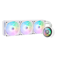 darkFlash TWISTER DX360 WHITE スパイラルライティング搭載 ARGB対応 360mm一体型水冷CPUクーラー ホワイトモデル:関西・大阪・なんば・日本橋近辺でPCをパーツ買うならツクモ日本橋!