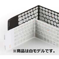 その他 WooRin Wekey Pocket Keyboard PN-301(WH) 白モデル 折りたたみ式ポケットサイズの薄型・軽量Bluetoothキーボード:九州・博多・天神近辺でPCをパーツ買うならツクモ福岡店!