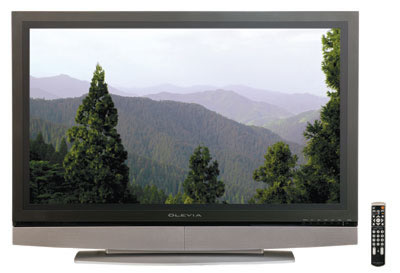 地デジ対応、42型ハイビジョン液晶テレビで12万円台!!美しさとの調和 OLEVIA 42V型 地デジ対応 ハイビジョン液晶テレビ☆彡