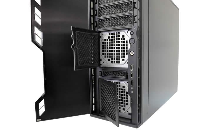 ba592778dd フロントドアの裏側には、洗浄可能な2枚のフィルタードアを搭載し、ケース内部に溜まりやすいチリやホコリの侵入を防ぎます。  エアフィルターと一体化したデザインに ...
