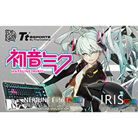NEPTUNE Elite RGB mechanical gaming keyboard HATSUNE MIKU EDITION (KB-NER-TBBOJP-09) 《送料無料》