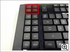 クイックアクセスキー(APEX)