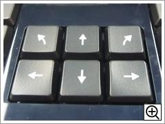 アローキーに右上、左上を追加