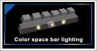2つのRGB LEDバックライト