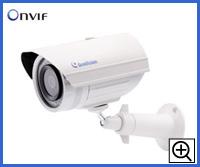 防塵防水対応ハウジング一体型小型ネットワークカメラ GV-EBL1100