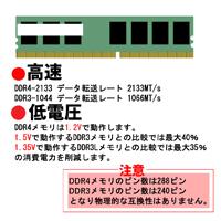 DDR3とDDR4