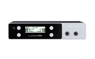 PCなしでHD映像をライブ配信できる、プロ仕様小型映像配信機器 LiveShell PRO
