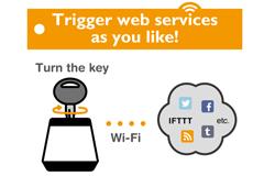 ウェブサービスをコントロールできるキースイッチ「Hackey(ハッキー)」 ウェブサービスを制御