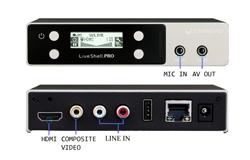 豊富な入出力端子、モニターOUT機能も装備
