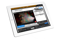 専用iPadアプリで楽々操作、映像編集の専門知識は不要。