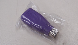 USB → PS/2 変換アダプタ