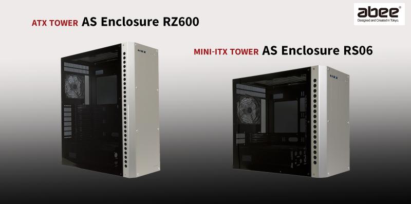 04f77cc576 Abee製! 両サイドアクリル&前面に高品位アルミ採用!「AS Enclosure RZ600 / RS06」 - 自作PC・PCパーツが豊富!PC 専門店【TSUKUMO】