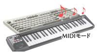 MIDIモード