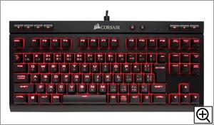 Cherry MX Red採用 10キーレスゲーミングキーボード