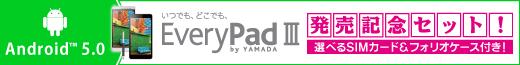 EveryPad 3 発売記念セット