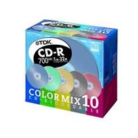 CD-R80E×10CMS (カラーミックスパック)