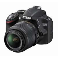 【クリックでお店のこの商品のページへ】D3200 18-55 VR レンズキット (ブラック) 《送料無料》