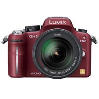 【クリックで詳細表示】LUMIX DMC-GH1K-R (コンフォートレッド) 《送料無料》