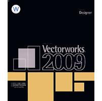 【クリックで詳細表示】Vectorworks Designer 2009J スタンドアロン版 基本パッケージ Windows 《送料無料》